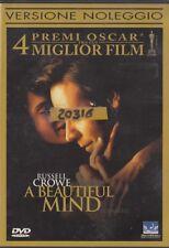 A BEAUTIFUL MIND (2002) DVD - EX NOLEGGIO