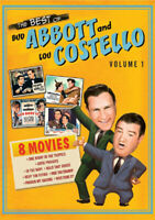 The Best of Bud Abbott and Lou Costello - Volume 1 (4 Disc) DVD NEW