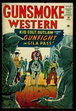 Marvel Comics GUNSMOKE WESTERN #61 KID COLT VG/FN 5.0