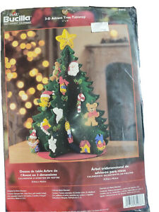 Bucilla Felt Advent Calendar Craft Christmas Tree Set #84976