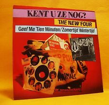 "7"" Single Vinyl The New Four Geef Me Tien Minuten 2TR 1981 MINT Schlager RARE !"