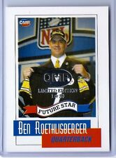 """BEN ROETHLISBERGER 2004 FUTURE STAR """"LIMITED EDITION 1 OF 50"""" ROOKIE CARD!"""