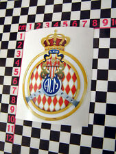 Vintage french glass sticker-mini cooper s bmc austin healey rallye monte carlo