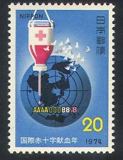 Japan 1974 Red Cross/Blood Donation/Medical 1v (n25241)