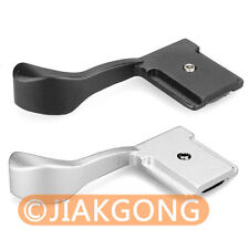 DSLRKIT Silver Black Thumb Up Grip Set for for Micro Camera Hot-shoe