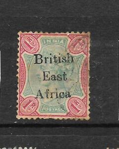 BRITISH EAST AFRICA 1895-96   1r   QV   FU    SG 60