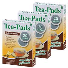 60 Tee Pads (3Pkg)  -Rooibuschtee Vanille- Tea-Pad  Tea-Friends- Senseo geeignet