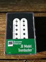 Seymour Duncan TB-4 JB Trembucker Humbucker PICKUP White Bridge Guitar