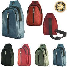 Womens Mens Cross Shoulder Mini Backpack Fashion Fanny Pack Waist Bag Pouch LOT