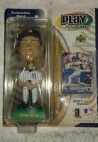 DEREK JETER MLB 2001 PLAY MAKER UPPER DECK BOBBLE HEAD DOLL New York Yankees