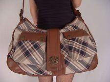 $950.00 Genuine Belstaff Leather Canvas Ally Shoulder Bag NWT Purse