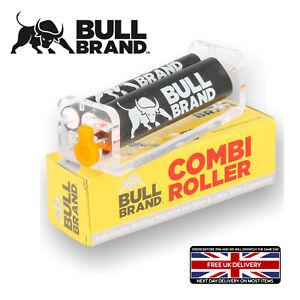 BULL BRAND SLIM ULTRA CIGARETTE ROLLER COMBI ADJUST TOBACCO ROLLING MACHINE