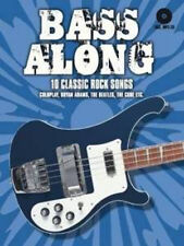Bass Along - 10 Classic Rock Songs, Very Good, Bosworth Book