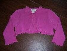 New Children's Place Girls size 24 Month Pink Sweater Cardigan Shrug Bolero