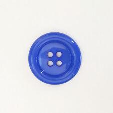 Gros Boutons Clown  38mm - Vendu à l'Unité - Bleu Roi