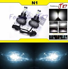 LED Kit N1 50W 9008 H13 6000K White Two Bulbs Head Light Replacement Snowmobile