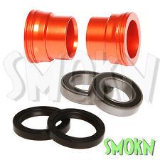 RFX Front Wheel Spacers & Bearing Kit KTM 125 200 250 300 EXC 03-15 Pro Series