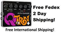 New Electro-Harmonix EHX Q-Tron Plus Envelope Filter Guitar Pedal QTron +