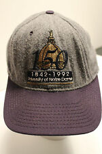 Trucker hat baseball cap Anniversary 150 years Notre Dame, snap back adjustable