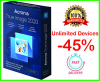 Acronis True Image 2020 ✅ Unlimited Devices 🔥 PRE-ACTIVATED ✅ Lifetime License