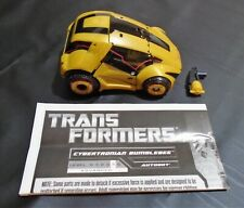 TRANSFORMERS CYBERTRONIAN BUMBLEBEE AUTOBOT 100% COMPLETE + MANUAL