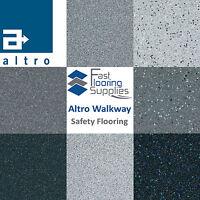 Altro Walkway Grey Safety Flooring / Sparkly Glitter Bathroom Kitchen Campervan