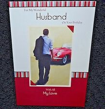 New Husband Happy Birthday greetings card