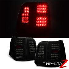 2003-2006 Lincoln Navigator [SINISTER BLACK] Smoke LED 4PC Rear Tail Lights Lamp