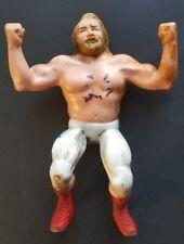 "1984 WWF LJN Big John Studd Rubber Wrestling Action Figure WWE Titan Sports 8"""