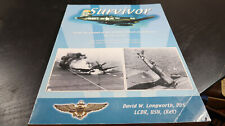 Survivor Autographed Dedicated Book on F4U Corsair David W Longworth