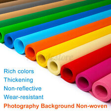 3.3/4.9/6.6X9.8FT Pure Color Screen Background Photography Photo Backdrop Cloth