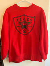 Crooks & Castles Trouble Makers Medusa Snake Crewneck Sweatshirt Mens XL