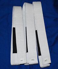 Brazilian Jiu Jitsu Belts in Cotton Material (100% Professional Quality) No Tax