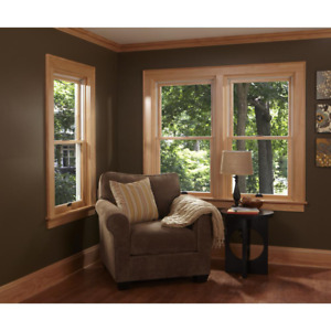 Andersen Double Hung Window 37.62 in. x 48.87 in. Tilt-In Cleaning Venting White