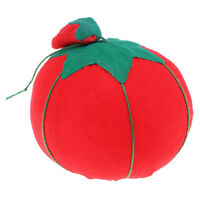 Novelty Tomato Shape Sewing Pin Cushion For Baby Kids Sewing Accessories