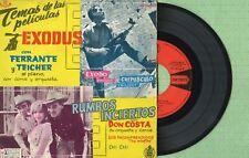 FERRANTE & TEICHER / Exodus / UNITED ARTISTS HU067-32 Pressing Spain 1961 EP EX