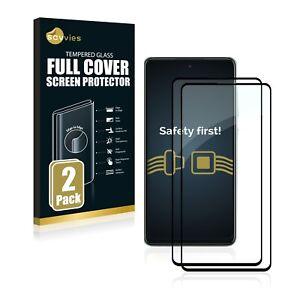 2x Full Cover für Samsung Galaxy A52s 5G Schutzpanzer Glasfolie 9H Panzerfolie