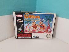 The Flintstones The Treasure of Sierra Madrock OVP+Anleitung Super Nintendo Snes