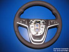 Opel Astra J Meriva B Zafira C Moca Multifuncional Airbagr Cuero Volante Marrón%