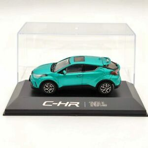 1:43 Toyota C-HR chr SUV Green Diecast Models Limited Collection Car