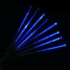 144LED Meteor Shower Falling Star Rain Drop Icicle Snow Fall Fairy Light US Plug