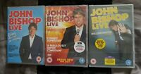 JOHN BISHOP Live Stand Up Comedy Shows DVD Bundle BRAND NEW & FACTORY SEALED