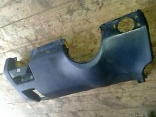 W124 Verkleidung unter Lenkrad Armaturenbrett Fußraum links blau