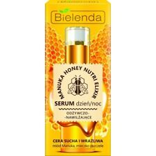 Bielenda Manuka Honey Nutri Elixir Nourishing Moisturizing Day & Night Serum 30g