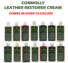 FURNITURE LEATHER RESTORER CREAM REVIVER CLEANER - CAR SHOES JACKETS (16 COLORS)