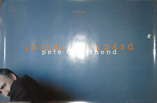 PETE TOWNSHEND Psychoderilect, Atlantic promo poster, 1993, 20x30, EX, The Who
