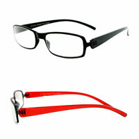 Reading Glasses Slim Frame Thick Temple Fashion Readers