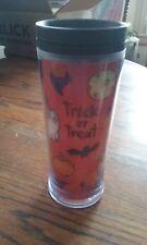 2009 Starbucks Holographic Halloween Trick or Treat Plastic Kids 8oz Travel Cup