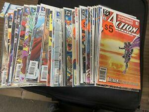 50 Different SUPERMAN COMICS, Comic Book Lot (CC2) DC Comics