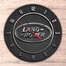 Land Rover Wall Clock Garage Home Room Office Decor!